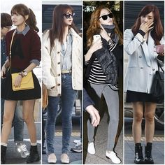 snsd airport fashion