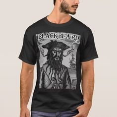 Blackbeard the Pirate Shirt - click to get yours right now!