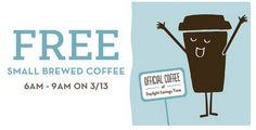 Caribou Coffee: Free Small Coffee Today from 6am to 9am - http://www.swaggrabber.com/?p=294714