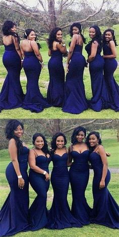 On Sale Colorful Mermaid Bridesmaid Dresses Navy Blue Bridesmaid Dresses Long Mermaid Sweetheart Wedding Party Dresses Bridesmaid Dresses Long Blue, Navy Blue Bridesmaid Dresses, Blue Dresses, Prom Dresses, Long Dresses, Royal Blue Bridesmaids, Prom Outfits, Bridesmaid Makeup, Evening Dresses