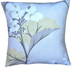 #Cushion Cover #Millwood #Camomile#Laura #Ashley #Handmade NEW #Yellow 16  40cm