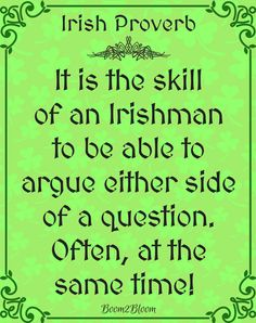 Ireland Blessings Proverbs Quotes Toasts