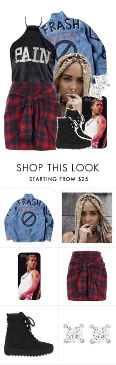 """""""🕳my style different 🕳💉"""" by jchristina ❤ liked on Polyvore featuring River Island, Yeezy by Kanye West and Montebello Jewelry"""