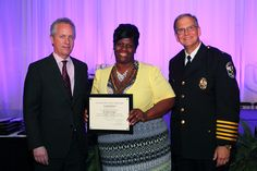 Exceptional Merit Award - Given to members of LMPD who display a superior performance of duty. - Mrs. Albertina Taylor