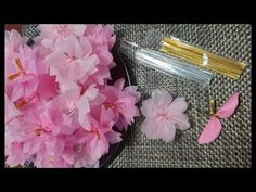 Diy And Crafts, Paper Crafts, Paper Flowers Diy, Paper Napkins, Handicraft, Wall Decor, Spring, Handmade, Inspiration