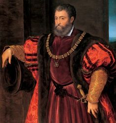 Alfonso d'Este, Duke of Ferrara (Attributed to Bastianino)