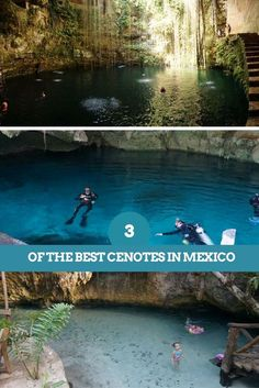 Everything you need to know for your own Mexican Cenote adventure. The 3 best cenotes we visited: Dos Ojos, Grand Cenote & Ik Kil.