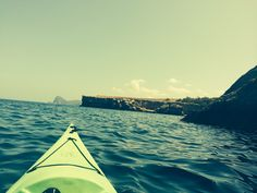 Ibiza from a kayak