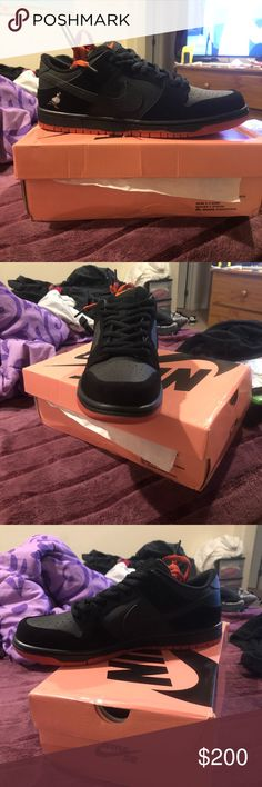 newest 7dc16 a3e17 Nike Sb black pigeon Jeff staple Size 11 tired on but never worn Nike Shoes  Athletic