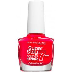 Maybelline Forever Strong Super Stay Gel Nail 7 Day wear - Hot Rose Salsa 10ml (490)