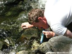 LifeStraw:  Personal Water Filter.  Removes 99.99% of waterborne bacteria and filters up to 10000 litres of water.