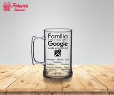 Custo, Beer, Mugs, Tableware, Google, Personalized Mugs, Parents' Day, Cups, Favors