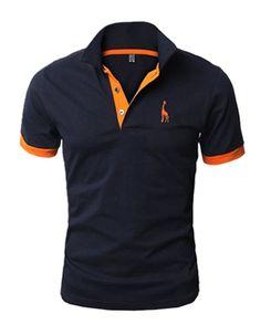 Kit 3 Camisas Polo Giraffe - Cinza Azul Escuro e Vermelha - Compre Aqui | Use Giraffe