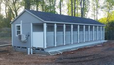 ADVERTEISEMENT Custom prefab kennel purchased by The City of Greer in Greer, SC – more cost effective than traditional 'stick built' kennel Puppy Kennel, Dog Kennel Cover, Diy Dog Kennel, Dog Kennels, Kennel Ideas, Custom Dog Kennel, Dog Kennel Designs, Dog Boarding Kennels, Pet Boarding
