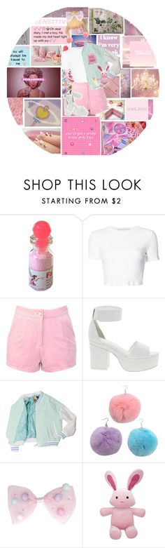 """""""💗Pink Sugar💗"""" by mokatinker0120 ❤ liked on Polyvore featuring Emma Watson, MAK, KEEP ME, GET LOST, Rosetta Getty and ASOS"""