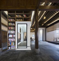Image 26 of 26 from gallery of Jiangshan Fishing Village Renewal / Mix Architecture. Photograph by Mix Architecture Contemporary Architecture, Interior Architecture, Interior And Exterior, Interior Design, Traditional Chinese House, Modern Lodge, Chinese Interior, Guangzhou, Design Awards