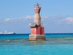 Egyptian lighthouse in Hurghada.