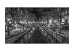 Amsterdam Red light district by lesARTicles on Etsy