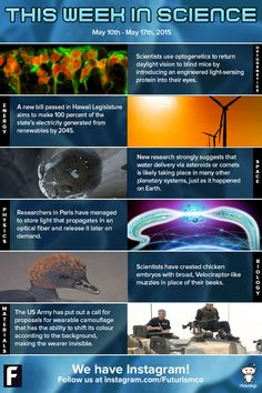 This Week in Science: Restoring Site in Blind Mice, Invisibility Cloaks, Chickens with Dinosaur Snouts, and More!