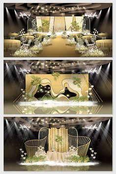 champagne golden wedding effect picture Wedding Backdrop Design, Wedding Stage Design, Wedding Designs, Backdrop Decorations, Wedding Decorations, Flower Decorations, Wedding Couple Photos, Wedding Stuff, Champagne Wedding Colors