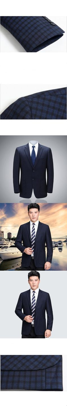 Men Casual Suit Jacket 2017 Spring Autumn Men's Suits Blazers High-grade Single-breasted Business Blazer Men Brand Clothing