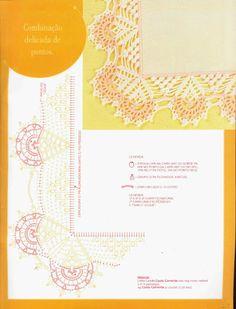 crochet - bicos/barrados com cantos - corners 1 - Raissa Tavares - Álbuns da web do Picasa