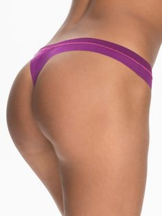 Fusion Table Thong - Dkny - Berry - Briefs - Underwear - Women - Nelly.com