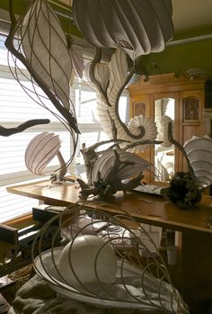 The Light Creations of Cameron Mathieson — Paper-Ya On Granv.- The Light Creations of Cameron Mathieson — Paper-Ya On Granville Island - Paper Light, Light Art, Diy Light, Luminaire Design, Lamp Design, Cool Lighting, Lighting Design, Lighting Ideas, Diy Luz
