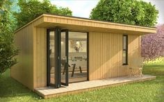7m x 3m Canopy Garden Studio