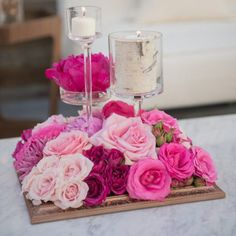 Our monthly series of the most fabulous wedding CENTERPIECES out there. Photo: Carla Ten Eyck