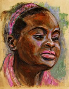 African American 3 by Xueling Zou
