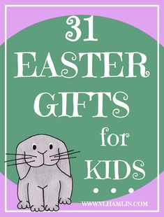 In need of some candy-free Easter gifts for kids? Look no further! This post is filled with ideas for Easter Gifts for Kids that don't contain an ounce of sugar.