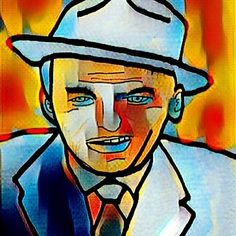 Sinatra by Riz #franksinatra #sinatra #art #artforsale #art #artnerd #artfido #artpop #artistsoninstagram #artofinstagram #artwork #artoftheday #artofinstagram #artworks #artlover #johnnyrizzo #johnnyrizzocomic