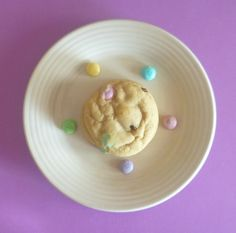Easter M&M Cookies
