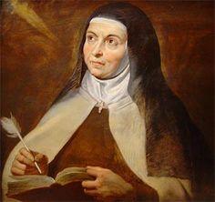 Óleo de Rubens - Sta. Teresa