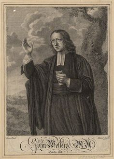 John Wesley by Bland, after Nathaniel Hone line engraving, circa 1766