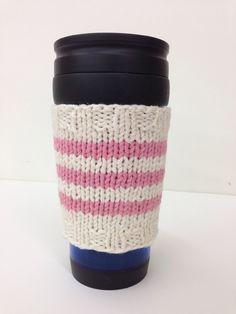 Ben Franklin Crafts - Oconomowoc   Intermediate Knitting: Striped Mug Hug in the Round with Lynda Laugavitz   April 30th