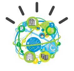 IBM ads by Jing Zhang, via Behance