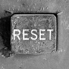 Reset button, I finally found it!