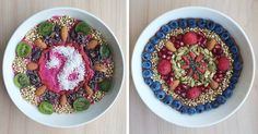 I Arrange My Vegan Food Into Detailed Bowl Mandalas | Bored Panda