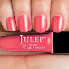 Julep Laree - Golden pink taffeta shimmer
