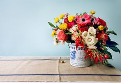 Gorgeous flowers for spring parties