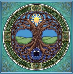 Tree of Life - I love this one with the sun/moon