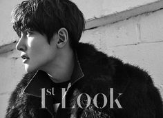 "(Capture) Ji Chang Wook with Look"" Magazine, Issue February Credit : Ji Chang Wook, Fabricated City, Suspicious Partner, Look Magazine, Kdrama Actors, Love Me Forever, Healer, Original Image, My Sunshine"