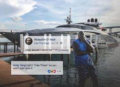 Shaq's boat