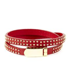 Sole Society Studded Leather Wrap Bracelet, $24.95.....Im so in love with these...I just cant get enough of them....I think I have at least 15 of them now.....