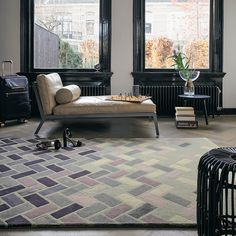 Agave Rugs 57104 by Ted Baker in Ash Grey