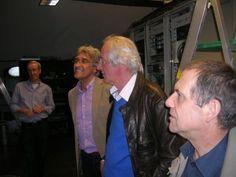 vrt reyerslaan 52 | ... Banden-André Beeckman-Luc Remory op bezoek in de VRT Toren boven.jpg