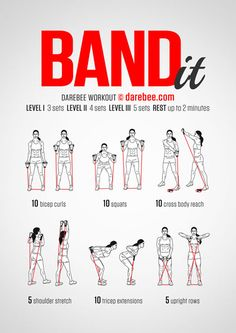 Band It Workout (best way for weight loss)