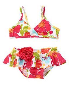 Lovely print bikini by Crazy 8   $12.99 #crazy8 #fashion #babies
